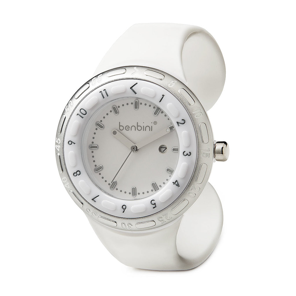 Benbini's innovative new-mom watch ($99) is perfect for tracking baby's feeding sessions, but it's also sporty and stylish.