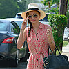 Miranda Kerr Pictures in Breezy Shirtdress in NYC