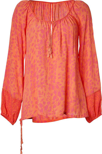 Hoss Intropia Chewing Gum Printed Tunic Top