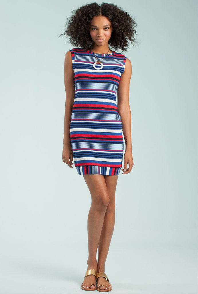 Preppy and nautical, this striped sheath ($208) from Trina Turk's collaboration with Chandon is perfect for adding to your Summer work wardrobe.
