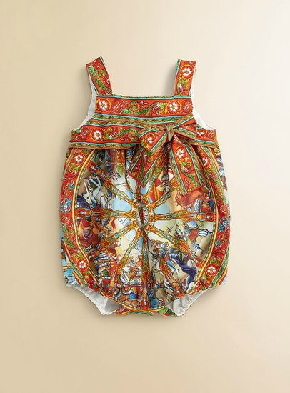 Dolce & Gabbana Infant's Printed Shortalls