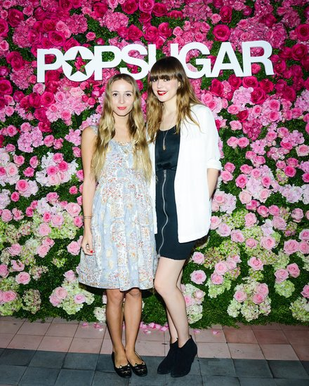 Harley Viera-Newton and Diane Birch brought the tunes to the Bowery Hotel rooftop at the POPSUGAR music showcase.