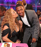 "Nick Cannon spoke about his and wife Mariah Carey's sex life in a 2012 interview with Howard Stern, revealing that the couple makes love to her music and he sometimes pleasures himself to her tunes ""when she's not there""."
