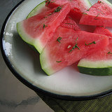 Watermelon With Honey, Mint, and Lime