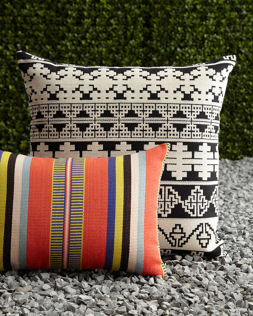 Get your money's worth from these durable pillows ($90-$140) that will easily add allure to your indoor and outdoor seating — no matter the season.