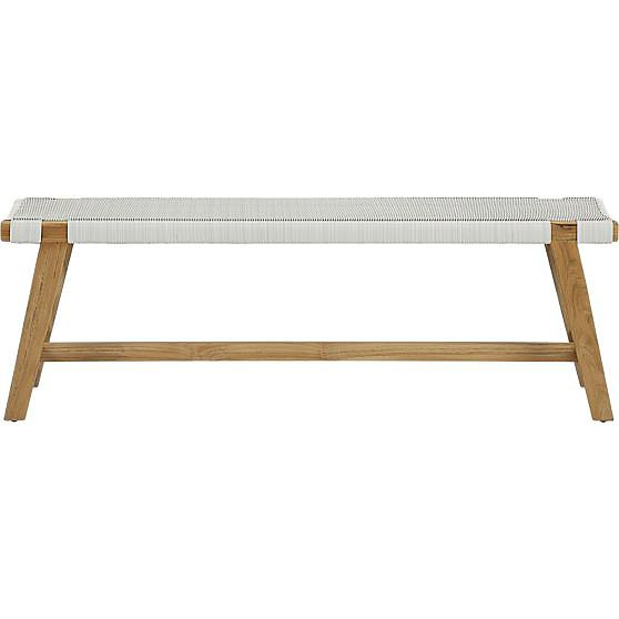 Add this bench ($479, originally $549) to your entryway for a rustic touch, or consider pairing it with your dining-room table when it's not in use outside.