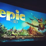 Is there anywhere else to be on a cold, wet weekend? Celebrity and entertainment editor Jess took in Epic 3D on a rainy Sunday — and said it was really cute, very imaginative and creative, and with excellent 3D features.