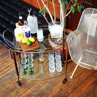 Bar Cart Ideas