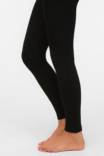 Fleece-Lined Footless Tight