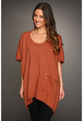 Gabriella Rocha - Marges Oversized Sweater (Rust) - Apparel