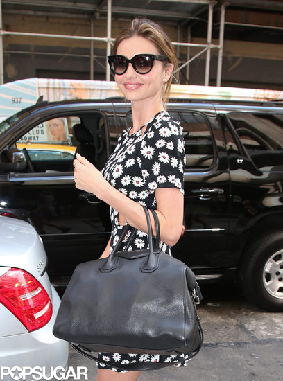 Miranda Kerr ran out for errands in NYC.