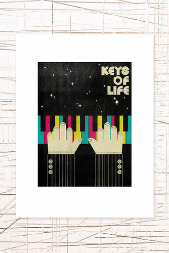 East End Prints: Keys of Life Wall Art