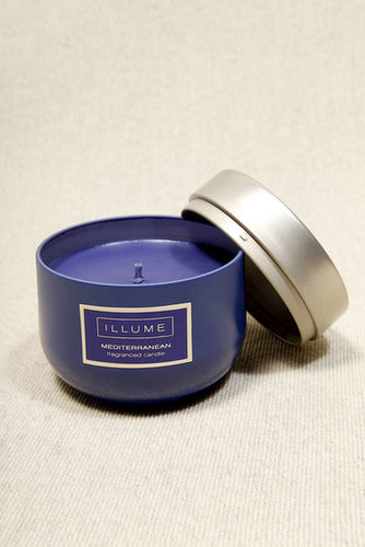 Illume Medium Blue Candle