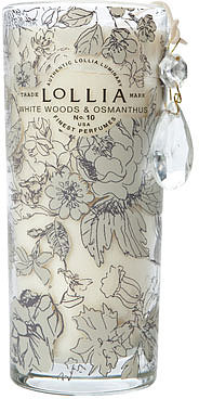 Lollia In Love Perfumed Luminary, White Woods & Osmanthus
