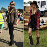 Wellies Required: See Glastonbury's Best Street Style