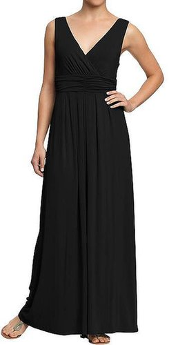 Women's Cross-Front Jersey Maxi Dresses
