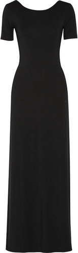 LNA Eva modal-blend jersey maxi dress