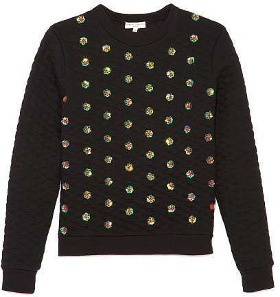 Preorder Opening Ceremony Sparrow Embellished Sweatshirt In Black