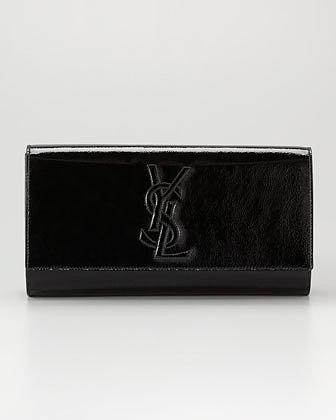 Yves Saint Laurent Belle De Jour Clutch Bag, Large