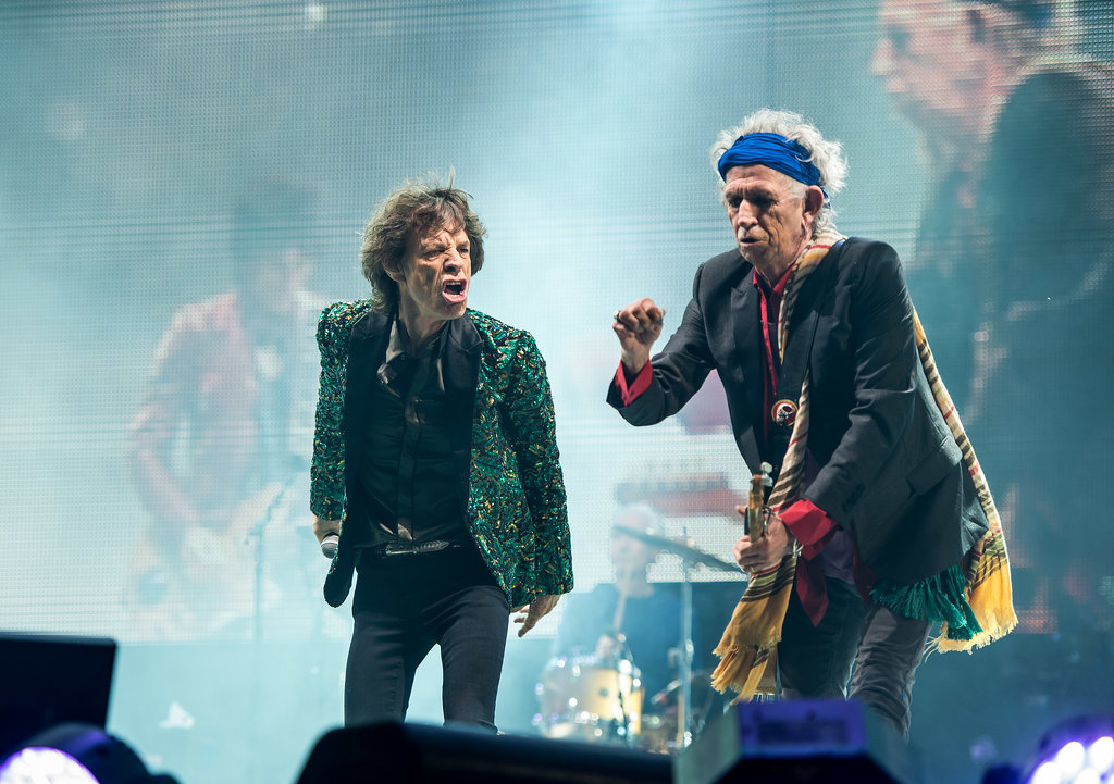 The Rolling Stones took the stage.