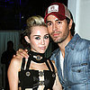 Miley Cyrus in Short Versace Dress at iHeartRadio Pool Party