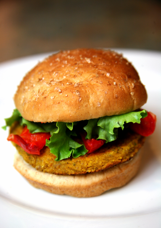 Vegetarian Burger Recipe: Sweet Potato, Chickpea & Quinoa | POPSUGAR ...