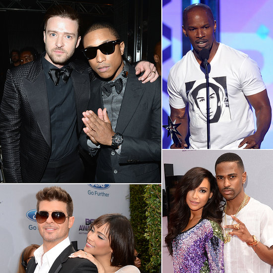 Justin Timberlake, Jamie Foxx and More Get the BET Party Started