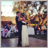 Damien Fahey danced with his bride, Grasie Mercedes, during their nuptials. Source: Instagram user damienfahey