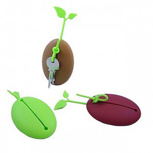 Coffee Bean Silicone Key Holder - feelgift.com