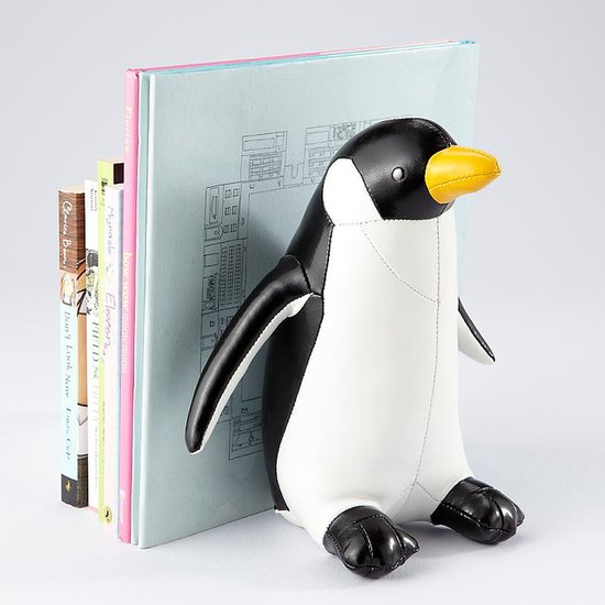 The Land of Nod Classic Penguin Bookend