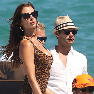 Ryan Seacrest With Dominique Piek on Vacation | Photos