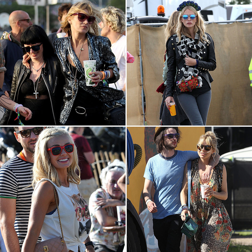 Wellies Required: See Glastonbury's Best Star Street Style