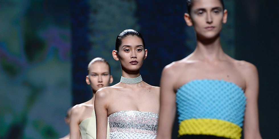 Dior Shows Love For Glitter Again at Paris Haute Couture Fashion Week
