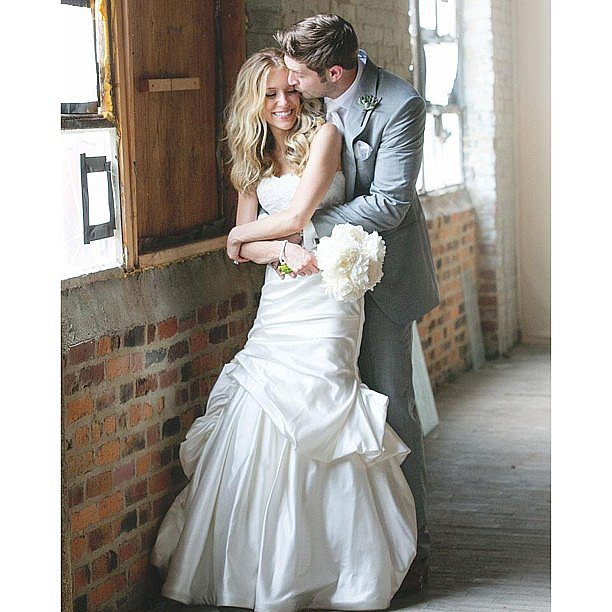 Kristin Cavallari shared this sweet shot from her June wedding to Jay Cutler. Source: Instagram user kristincavofficial