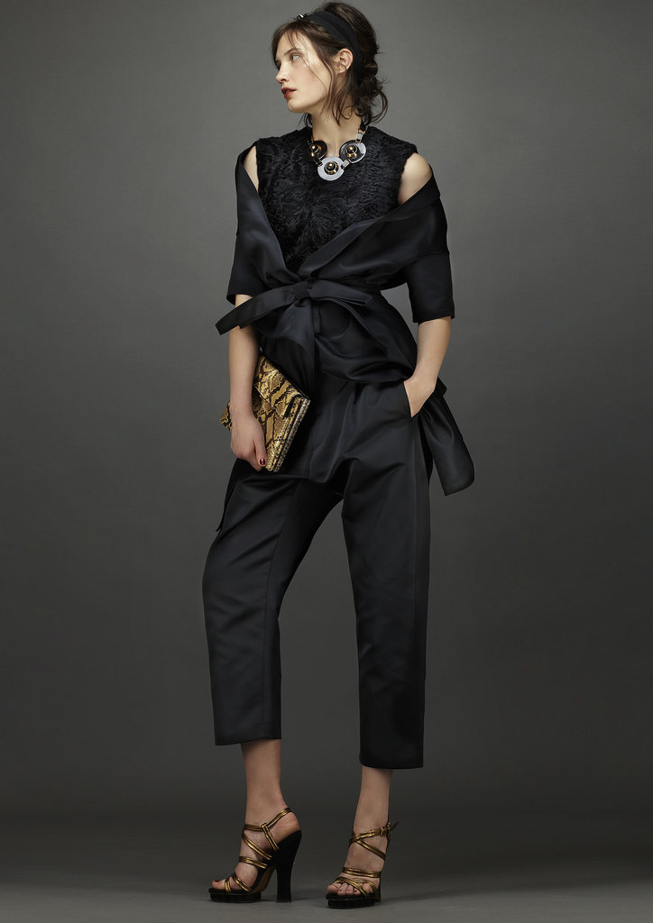These relaxed separates are elegant, not stuffy. Source: Marni