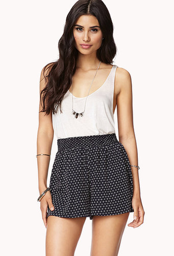 FOREVER 21 Flirty Dotted Shorts
