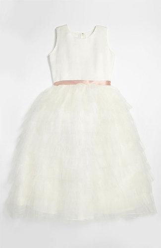 Joan Calabrese for Mon Cheri 'Cupcake' Dress (Little Girls & Big Girls)
