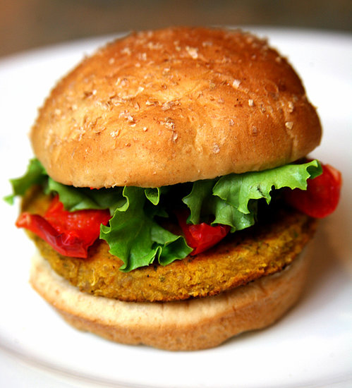 Chickpea, Barley, and Quinoa Burgers