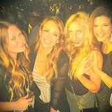 Jessica Alba shared a photo of her and her friends at Beyoncé Knowles's LA show. Source: Instagram user jessicaalba