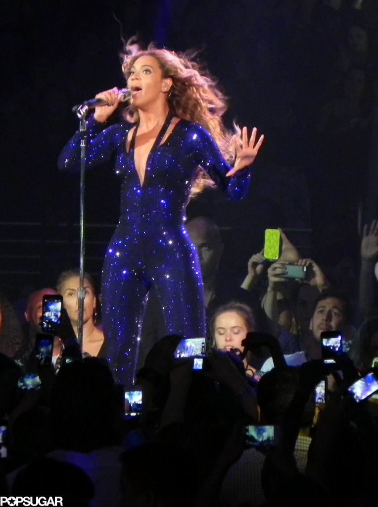 Beyoncé Knowles took the stage in LA.