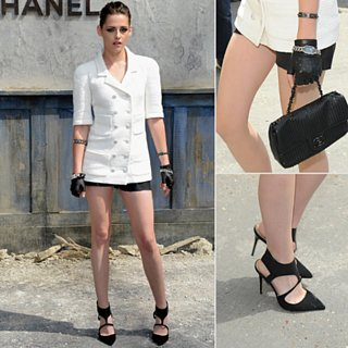 Kristen Stewart at Chanel Couture Fall 2013 Show