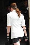Kristen Stewart Reveals Her New Tattoos at the Chanel Show