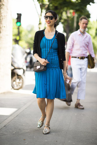 Caroline Issa perfected the art of the everyday dress. Source: Le 21ème | Adam Katz Sinding