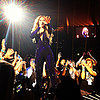 Robert Pattinson and Stars at Beyonce's LA Show