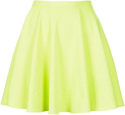 Fluro Mini Skater Skirt