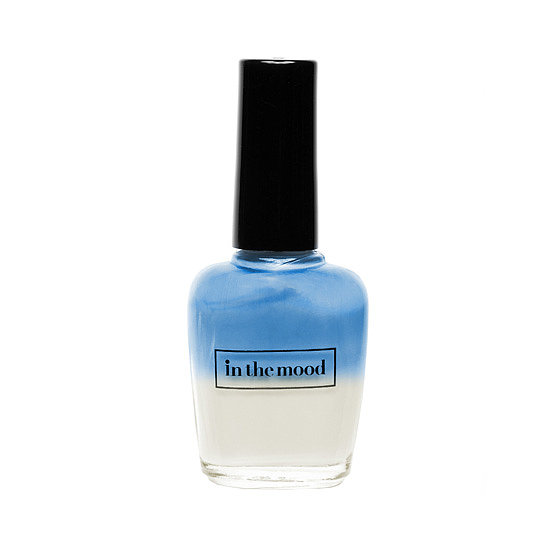 Let your mood show . . . on your nails, that is. In the Mood has launched three new shades just in time for Summer's hottest months. The Blues ($8) is our favorite pick; watch it transform color when the temperature rises.