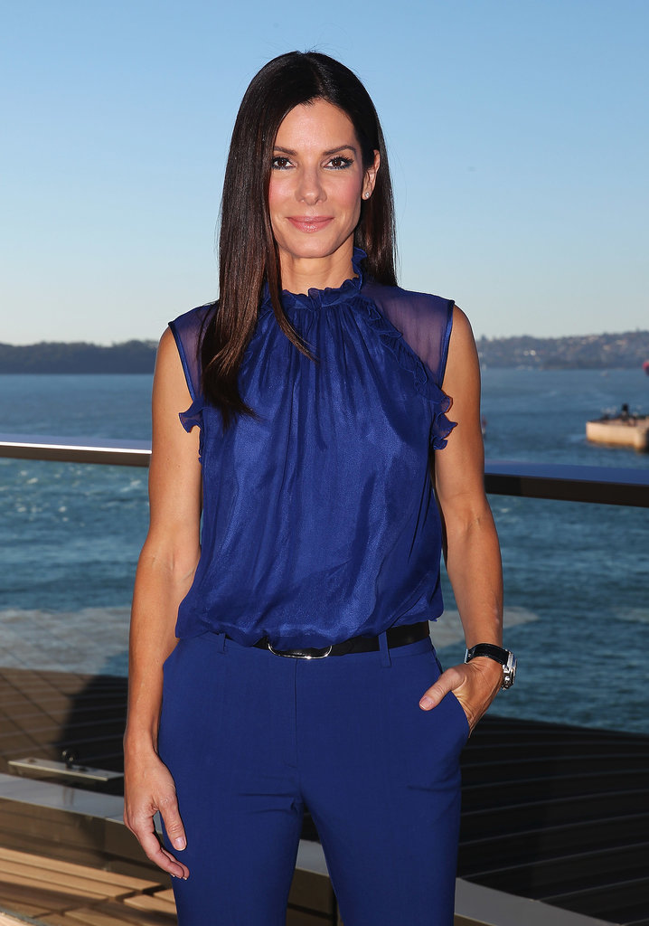 Sandra Bullock Pulls Double Duty Down Under