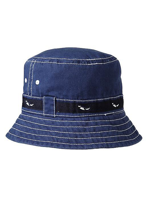 Baby Gap's Shark bucket hat ($10, originally $13) is made for the shade!