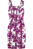 Zhanna Floral-Print Silk Dress ($495, originally $1,240)