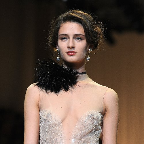 Giorgio Armani Privé Beauty Looks at 2013 Paris Fashion Week